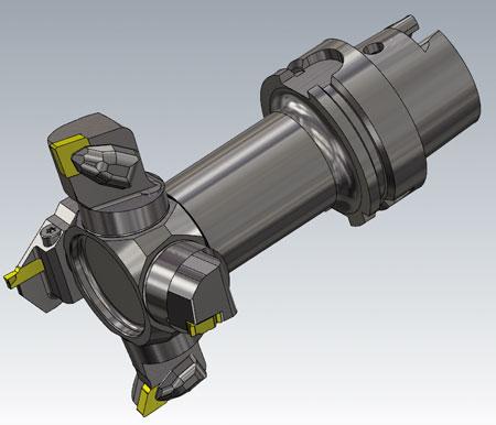 Stöd för 3D Multiverktyg i Mastercam
