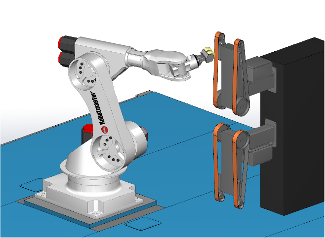 Slipning i Robotmaster